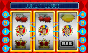 Joker 8000  - drie jokers